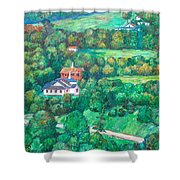 Near Tuggles Gap Shower Curtain