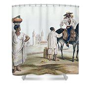 Nebel Mexican Peddlers Shower Curtain