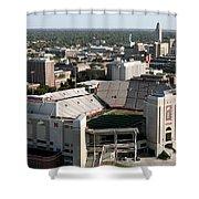 Nebraska Cornhuskers Stadium Lincoln Shower Curtain