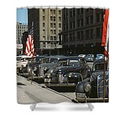 Nebraska Lincoln, 1942 Shower Curtain