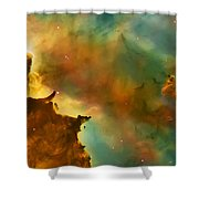 Nebula Cloud Shower Curtain by Jennifer Rondinelli Reilly - Fine Art Photography