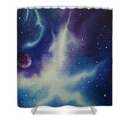 Nebulae Ngc -1014 Shower Curtain