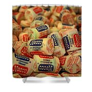 Necco Wafers Shower Curtain