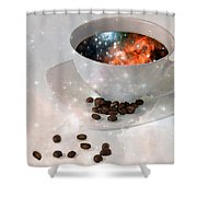 Nectar From Heaven - Coffee Art By Sharon Cummings Shower Curtain