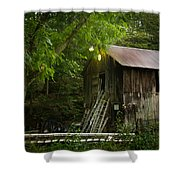 Need A Ladder? Shower Curtain