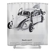 Need A Part? Shower Curtain