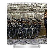 Need A Ride Shower Curtain