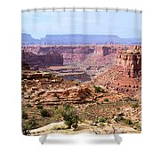 Needles Grand Canyon Shower Curtain by Adam Jewell