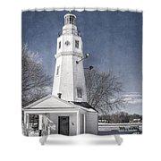 Neenah Lighthouse Shower Curtain