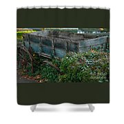 Neglect Shower Curtain