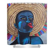 Negrito In Carnival Shower Curtain