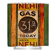 Nehi And Gas Sold Here Shower Curtain
