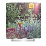 Neighboring Gardeners Shower Curtain