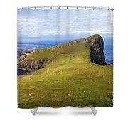 Neist Point  Shower Curtain by Diane Macdonald