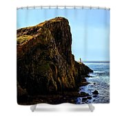 Neist Point Shower Curtain