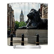 Nelson's Lion Shower Curtain