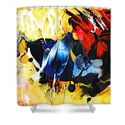 Nemo Finding Redbubble Shower Curtain