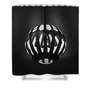 Neon Boneyard Light Shower Curtain