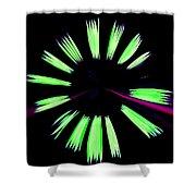 Neon Dreams Shower Curtain