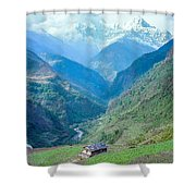 Nepal Shower Curtain