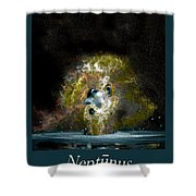 Neptune Rising Shower Curtain