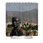 Nerja View Shower Curtain