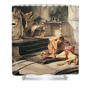 Nero And Agrippina Shower Curtain