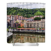 Nervion Shower Curtain