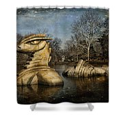 Nessie Grand Rapids Darling Shower Curtain