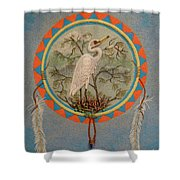 In Balanced Contemplation - Hega'ho Shower Curtain