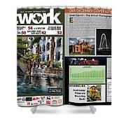Network Magazine Feature Shower Curtain