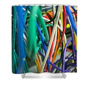 Networking  Shower Curtain