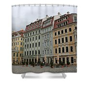 Neumarkt - Dresden - Germany Shower Curtain