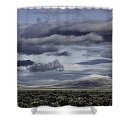 Nevada Blue Skies Shower Curtain