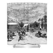 Nevada Carson City Shower Curtain