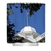 Nevada State Capitol Shower Curtain