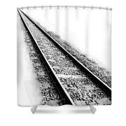 Never Ending Journey Shower Curtain