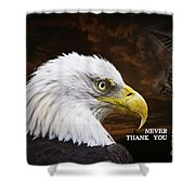 Never Forget - Memorial Day Shower Curtain