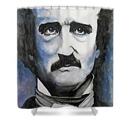Never More - Poe Shower Curtain