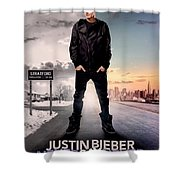 Never Say Never 1 Shower Curtain