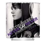 Never Say Never 2 Shower Curtain