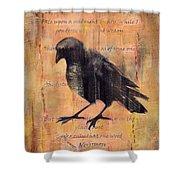 Nevermore II Shower Curtain