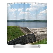 Neversink Reservoir Dam Shower Curtain