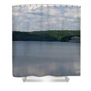 Neversink Reservoir Shower Curtain
