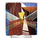 New Age Performing Arts Center Shower Curtain