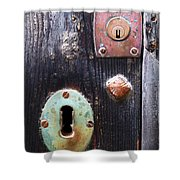 New And Old Locks Shower Curtain