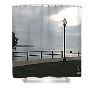New Baltimore Shower Curtain