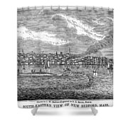 New Bedford, 1839 Shower Curtain