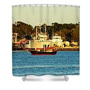 New Bedford Massachusetts 2 Shower Curtain