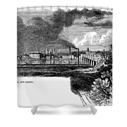 New Brunswick, 1876 Shower Curtain